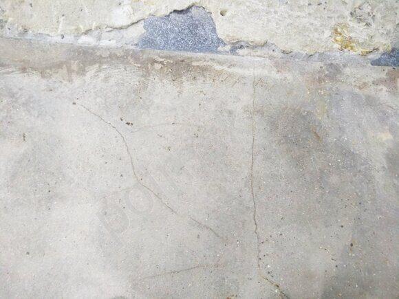 виду разрушения бетона