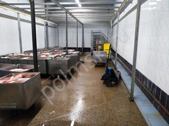 химически стойкие бетонные полы для пищевых цехов